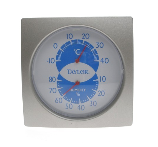 Dial Thermometer with Humidity Guide