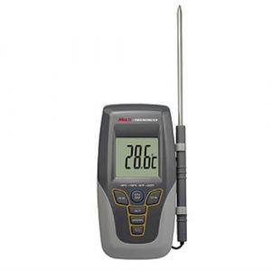 Digital Thermometer with High and Low Alarms